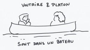 Voltaire et Platon