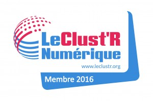 Logo Membre 2016 Le Clust'R Numérique